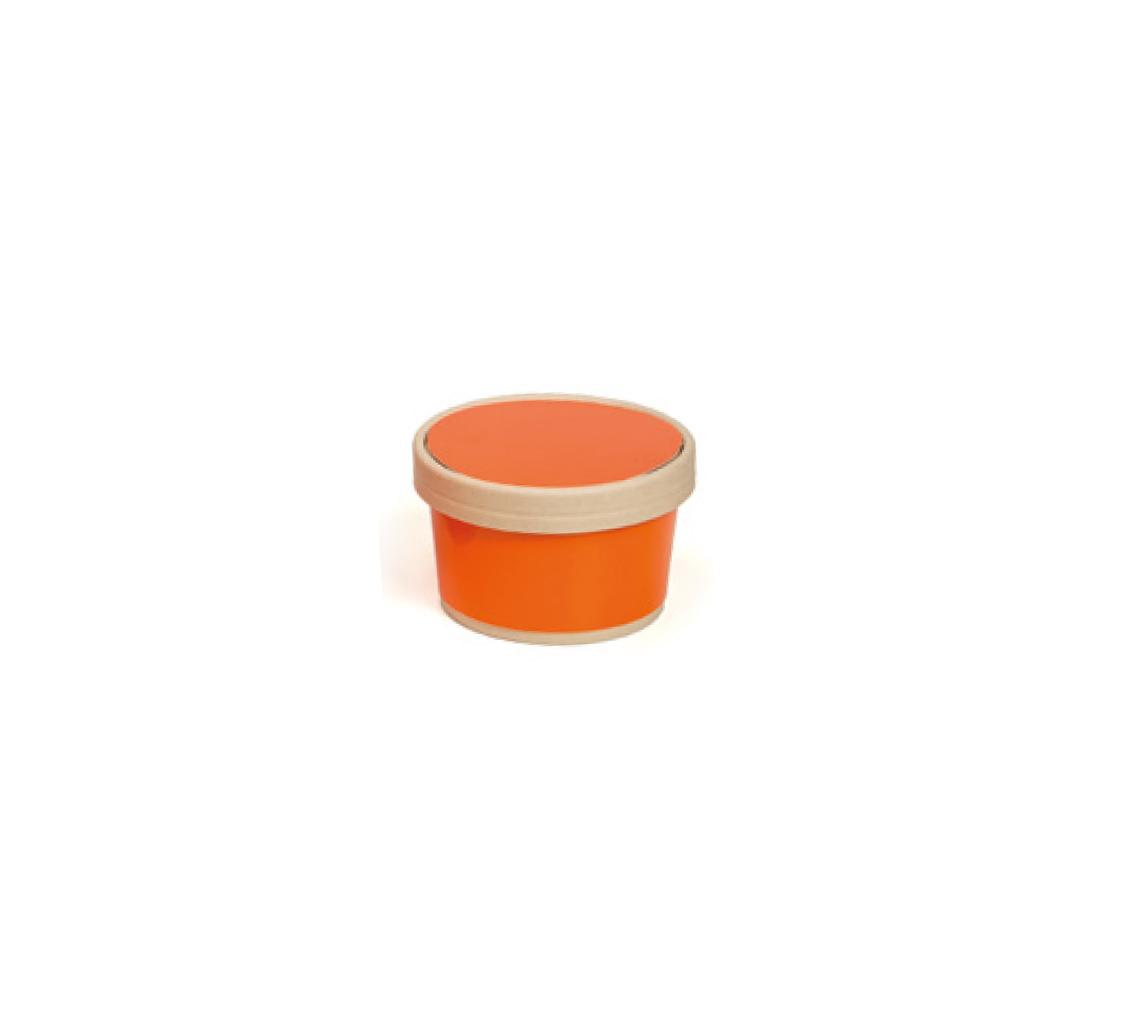 Vaso helado mandarina