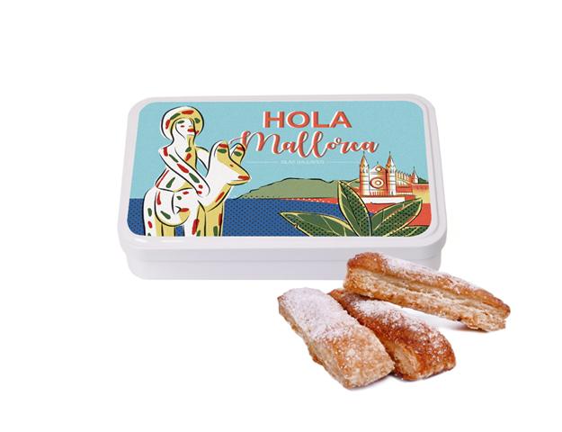 Lata Grande Mallorca 100 gr hojaldre
