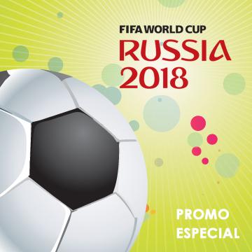 Especial Mundial de fútbol - Russia 2018