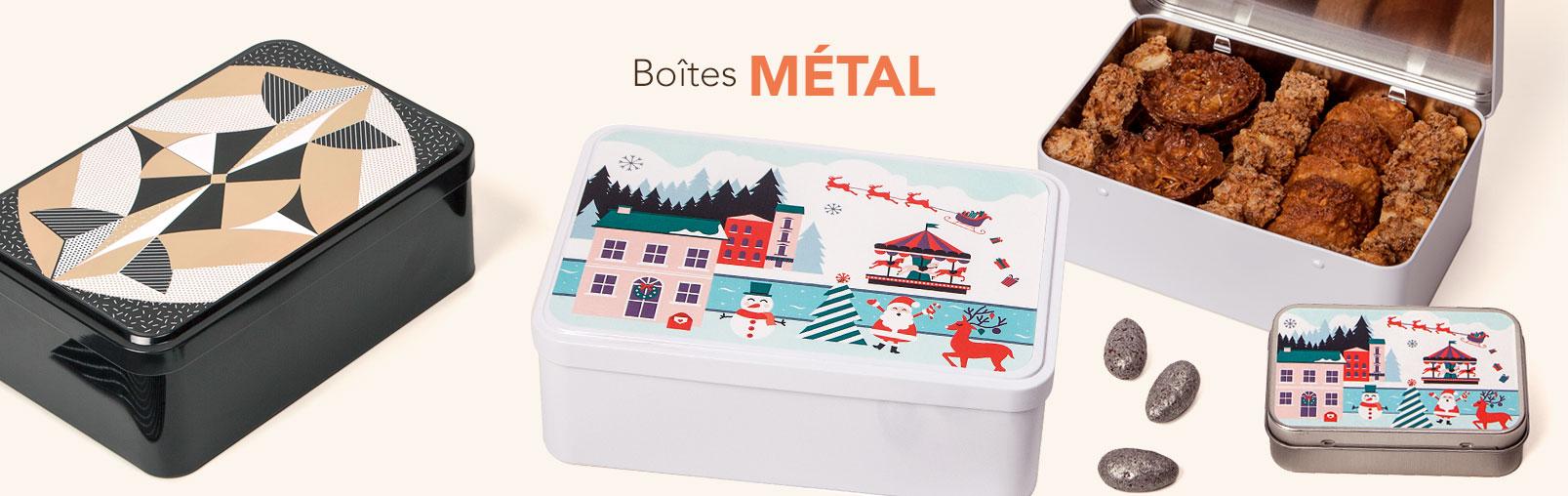 Boites METAL